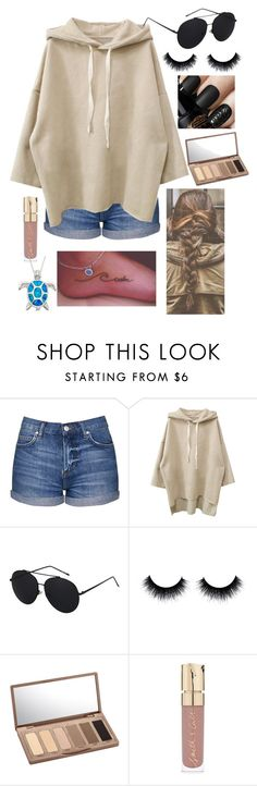 """Surfs up"" by mary-elizabeth-1998 ❤ liked on Polyvore featuring Topshop, Urban Decay and Smith & Cult"