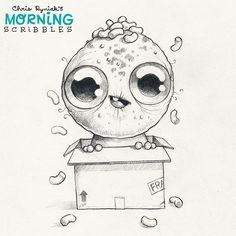 Special Delivery!   #morningscribbles