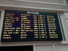 @JetBlue Airways flights at @Savannah Hilton Head International Airport first day 2-13-14