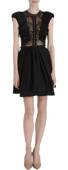 Nina Ricci Lace Inset Dress #TZRbday