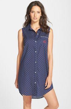 d00eac8a0e Lauren Ralph Lauren Sleeveless Sleep Shirt