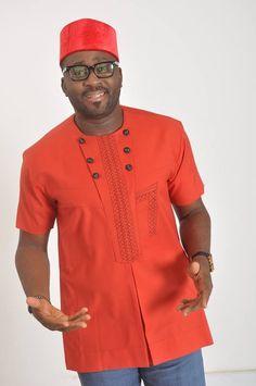 Men African Wear Men African Attire African by SJWonderBoutique African Shirts For Men, African Dresses Men, African Clothing For Men, African Attire, African Wear, African Style, African Women, Nigerian Men Fashion, African Print Fashion
