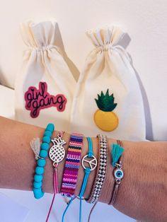 Summer Bracelets, Cute Bracelets, Summer Jewelry, Handmade Bracelets, Beaded Bracelets, Hand Jewelry, Cute Jewelry, Bracelet Set, Anklet Bracelet