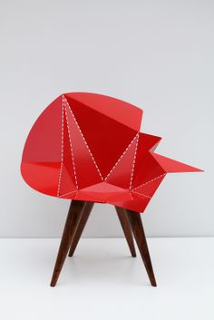 "Armchair ""Miss Lubka"" by Adriano Pernazza on www.the-interiordesign.com"