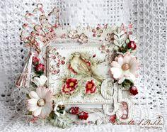 Wonderful wedding card created by Camilla S Bakke
