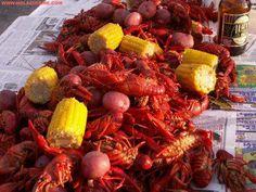 Crawfish Boil - YUMMY !!!