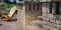 Belgard offers a variety of natural, smooth-step pavers and rough-hewn textured wall systems that provide a time-honed appearance reminiscent of the gardens of Old Europe. #UrbanaPaver #WestonWall