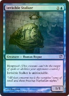 Magic The Gathering MTG 4x   Invisible Stalker Innistrad (Foil) Uncommon $13.96