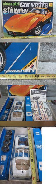 1 12 Scale 145972: Otaki Chevrolet Corvette Mint 1 12 Scale Model Kit Japan New Contents Sealed -> BUY IT NOW ONLY: $194.99 on eBay!