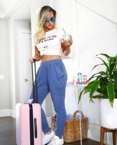 "256.6k Likes, 1,911 Comments - AlishaMarie (@alisha) on Instagram: ""traveling in style ♡  ps..all packed up and ready for @beyondwland ..can't go anywhere without…"""