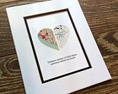 Long Distance Relationship Gift- Gift For Couples Boyrfriends and Girlfriends -Wall Art