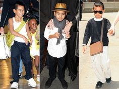 Maddox Jolie-Pitt was one of the first celebrity kids to take up Mohawk style