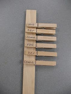 Would this work for ABC order?  What a wonderful way to practice!