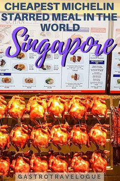 Foodie Travel 802555596078197077 - Discover the iconic food of Singapore – Source by OxfordsFlipFlop Singapore Travel Tips, Singapore Food, Singapore Vacation, Visit Singapore, Kuala Lampur, A Food, Food And Drink, Recipe Icon, Orlando
