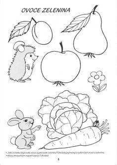 ovocie a zelenina coloring - Hľadať Googlom Fall Crafts, Arts And Crafts, Felt Patterns, Arts Ed, Autumn Activities, Preschool Worksheets, Printable Coloring Pages, Artist At Work, Kids And Parenting
