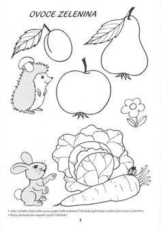 ovocie a zelenina coloring - Hľadať Googlom