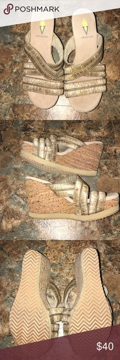 Volatile wedges Size 6 Volatile wedges. Never worn. Great condition. Volatile Shoes Wedges