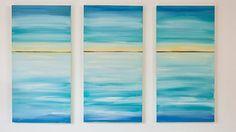 How to make a seascape canvas