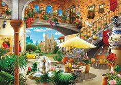 11389-ks-games-1000-parca-barcelona-view-from-courtyard-hiroyuki-tanikawa-puzzle-58.jpg (1280×906)