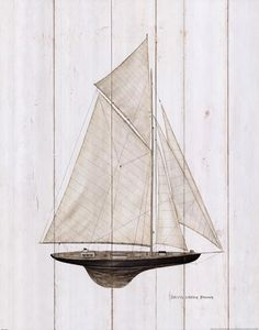 Sailboat I Art Print