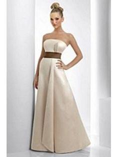 bari jay champagne and cappuccino dress - this is really similar to Tara's dress