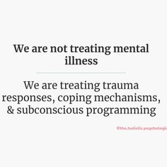 We now have evidence through brain scans that trauma changes the brain physically. A trauma brain becomes a filter through which we see… Mental And Emotional Health, Mental Health Awareness, Mental Illness Recovery, Ptsd Recovery, Social Work Humor, Trauma Therapy, Nursing Memes, Nurse Quotes, Coping Mechanisms