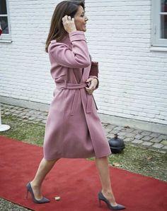 On November 22, 2016, Princess Marie as Patron of DanChurchAid attended the DanChurchAid's (Folkekirkens Nødhjælp) Christmas event at Scaeffergarden in Gentofte, Denmark.