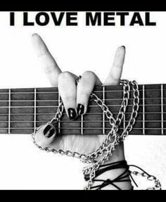 """""""I love Rock 'n' Roll."""" Rock on! I Love Music, Music Is Life, Good Music, 80s Music, Heavy Metal, Music Lyrics, Music Quotes, Style Punk Rock, Fred Instagram"""