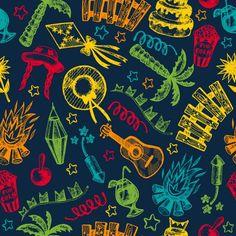 ピケットブラジル7月の旅行火災セットデザインパターンの背景陽気な休日の庭のイラストの装飾要素をお祝い暗い夜幸せな農場の帽子伝統的なパーティのアイコンわら手のひらバナー村シームレスカートお祝いのトウモロコシ聖人レイアウト民俗祭り花輪ランタンフラグブラジルサンパウロブラジルのごちそう6月描かフェスタヒックジョアンjunina手カーニバル 無料ベクター