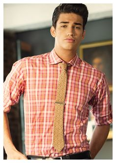 #prep #preppy #tie #model #fashion #mensfashion #plaidshirt