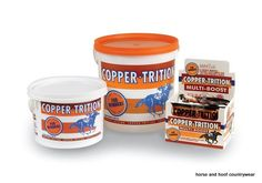Equine Products UK Copper-Trition A vitamin and mineral nutritional supplement containing essential vitamins including Vitamin E.
