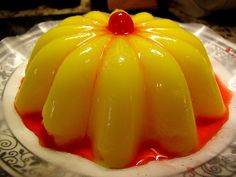 victorian looking molded jelly