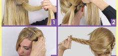 How To: The Milkmaid Braid