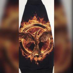 Hunger Games Fire Mockingjay