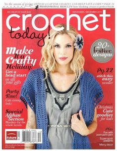 Crochet today2010  ideas en crochet, puntos, preciosas revistas