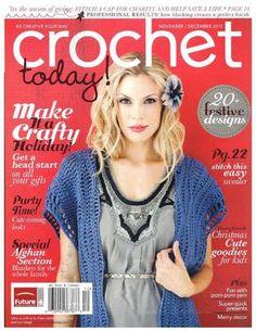 Crochet today2010  ideas en crochet, puntos, preciosas revistas