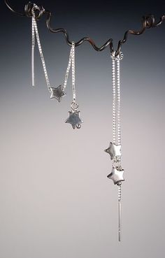 Sterling Stars Threader Earrings- had star threaders as a kid, still love threaders, they were my first pairs!