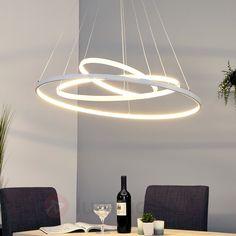 Puissance suspension LED Eline avec 3 anneaux 9987046  320€
