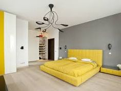 Image result for apartments paint interior grey, whites, yellows, oranges, trims