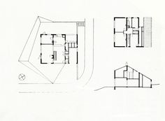 Alison And Peter Smithson, Watford, Architects, House Plans, Home And Family, Floor Plans, England, The Unit, How To Plan
