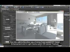 Linear Workflow in V-Ray for 3ds Max for Interior Design