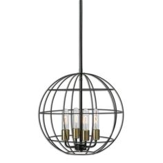View the Uttermost 22023 Palla 4 Light Cage Pendant at LightingDirect.com.