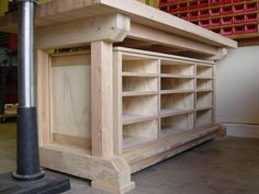 Chest Woodworking Plans - Custom Woodworking Videos - - Cool Woodworking Gifts - Woodworking Tools Workshop - Woodworking Bench How To Build Small Woodworking Shop Ideas, Woodworking Bench Plans, Workbench Plans, Woodworking Projects, Garage Workbench, Woodworking Classes, Woodworking Techniques, Teds Woodworking, Garage Bench