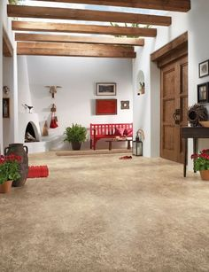 Fabulous versatile flooring for your foyer with easy clean up..Armstrong - Briarcliff