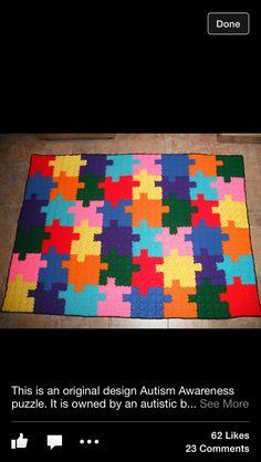 Autism Awareness Puzzle Jigsaw Folding Rain Umbrella Parasol Windproof Travel Sun Umbrella Compact