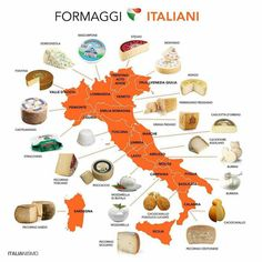 The iconic Cheeses oof Italy Italian Grammar, Italian Vocabulary, Italian Phrases, Italian Words, Italian Language, Korean Language, Japanese Language, Spanish Language, French Language