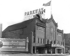 Parkway Theatre, 1920 Wow, it looks SO different!!