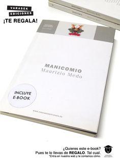 Te regalamos 'Manicomio' de Maurizio Medo. Ahí es nada http://web.librerantes.com/2016/02/te-regalamos-manicomio-de-maurizio-medo/