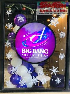 Big Bang Milk Tea is now open at G1-A Garden Heights Condominium, E. Rodriguez Sr., New Manila, Quezon City (In front of Trinity University of Asia) Store Hours: 10am - 8pm Big Bang Milk Tea, really an out of this world experience!! #milktea #balloons #balloonsdecoration #storeopening