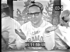 Allan Sherman performs CAMP GRANADA ( Hello Muddah Hello Fadduh ) on TV 1963 - YouTube